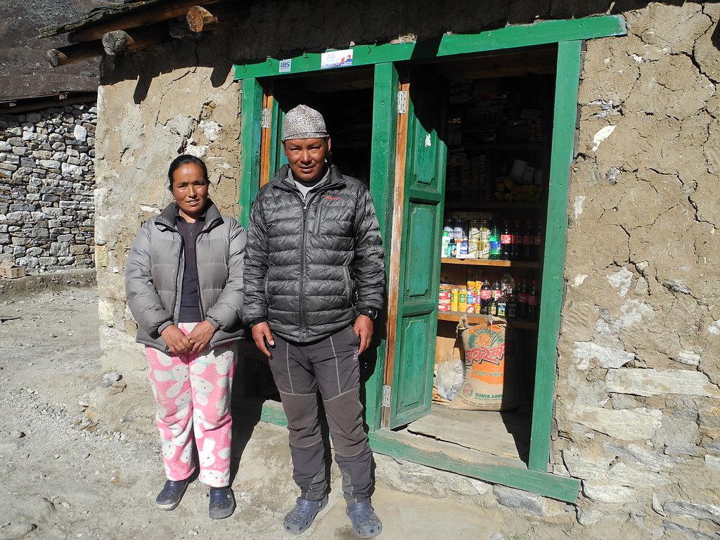 Lakpa Sherpa, our climbing guide