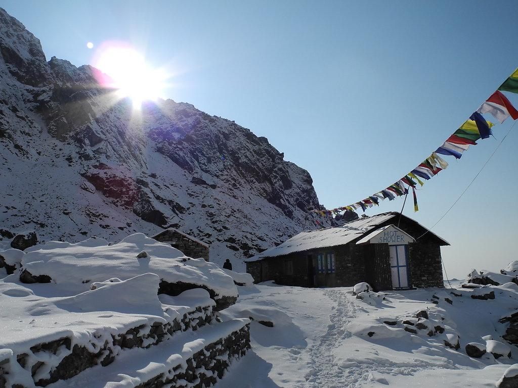 Winter in Thuli Kharka (4250m)