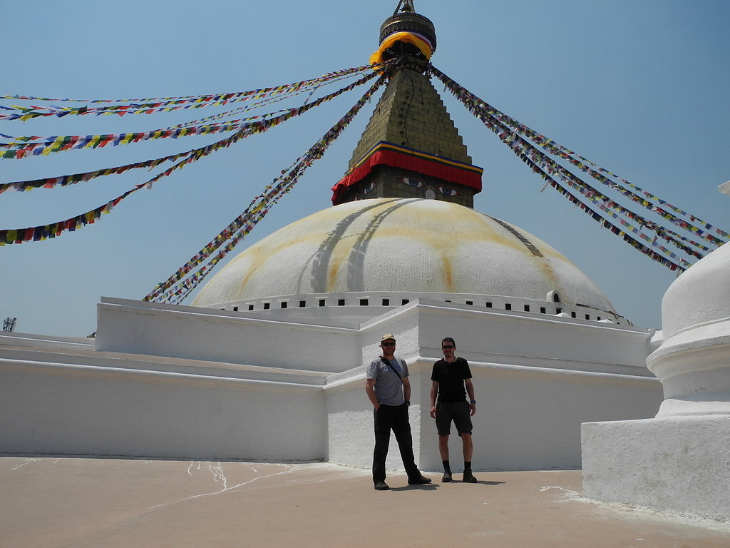Sightseeing at Boudhanath