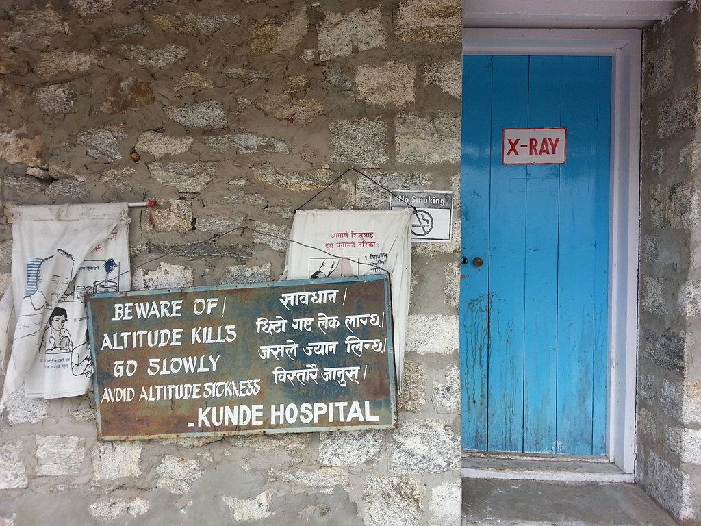 Khunde Hospital (3800m)