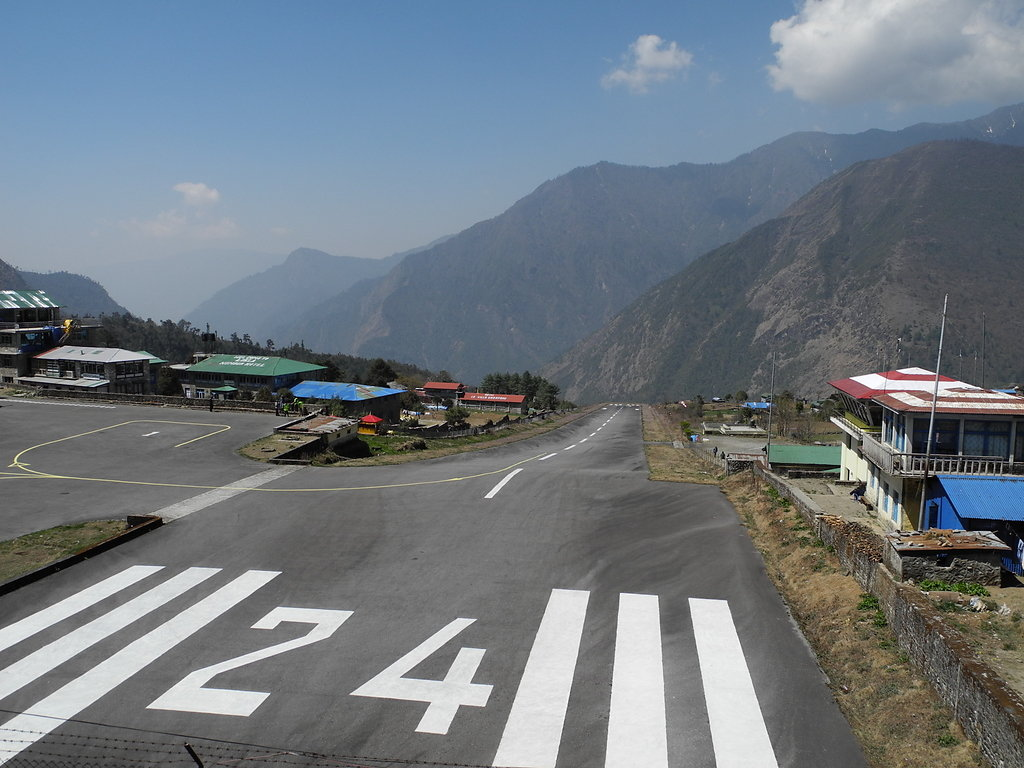 Runway at Lukla Airport