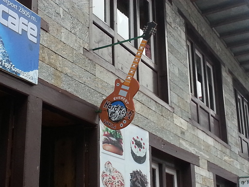 Hard Rock Cafe, Lukla :-)