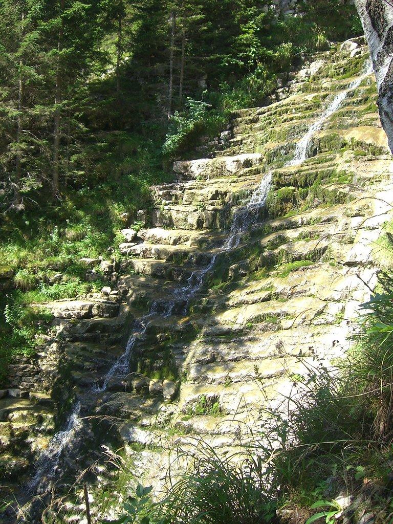 Kaskadenwasserfall