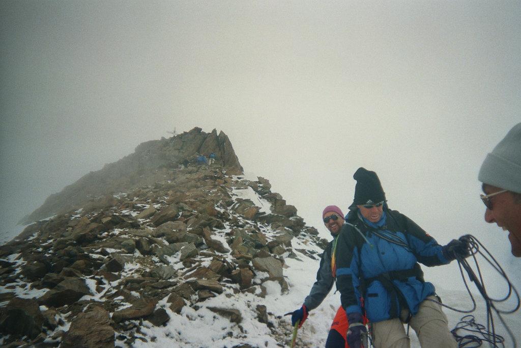 Abstieg wieder über den Normalweg