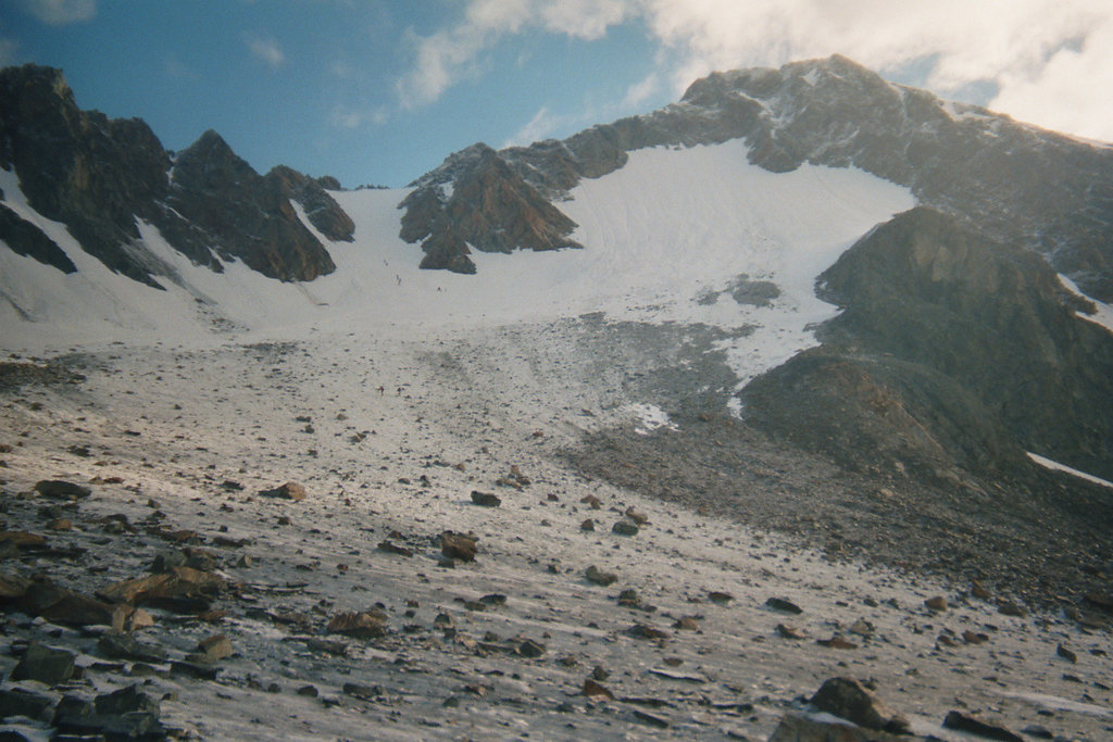 Wildspitze (3774m), Normalweg (Mitterkarjoch), 2002