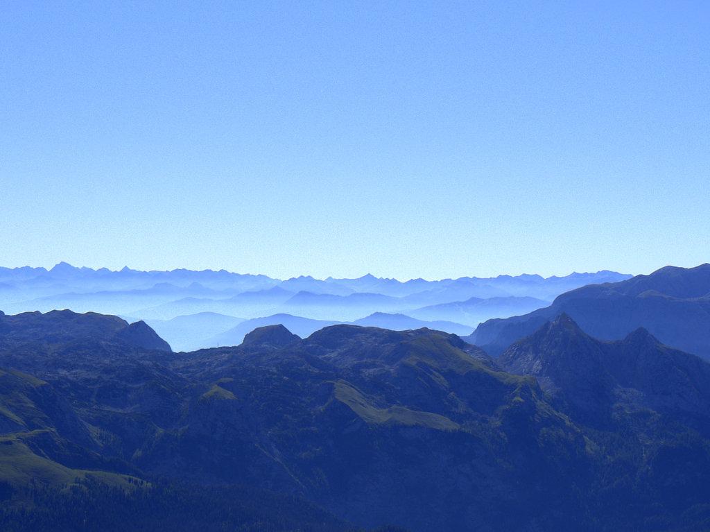 Gipfelblick von Hocheck