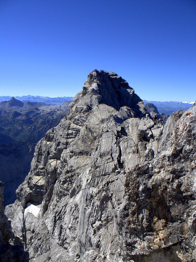 Watzmanngrat, Mittelspitze