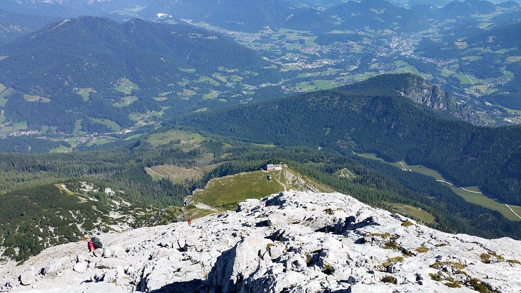 Watzmannhaus von oben